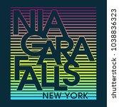 niagara falls new york... | Shutterstock .eps vector #1038836323