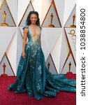 Small photo of Betty Gabriel at the 90th Annual Academy Awards held at the Dolby Theatre in Hollywood, USA on March 4, 2018.