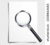 realistic transparent...   Shutterstock .eps vector #1038863683
