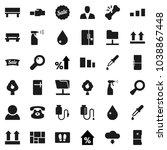 flat vector icon set   water...   Shutterstock .eps vector #1038867448