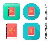 Law Book Icon   Judge Icon  ...