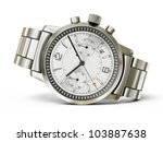 Luxury Watch Isolated On A...