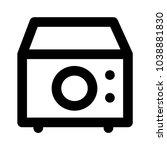 oven machine power  | Shutterstock .eps vector #1038881830