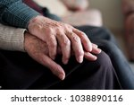 closeup of an old caucasian man ... | Shutterstock . vector #1038890116