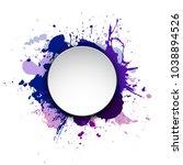 banner blot presentation ... | Shutterstock .eps vector #1038894526