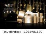 hydrating facial cream for... | Shutterstock .eps vector #1038901870