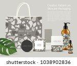 beautiful terrazzo pattern on... | Shutterstock .eps vector #1038902836