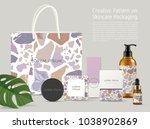 beautiful terrazzo pattern on... | Shutterstock .eps vector #1038902869