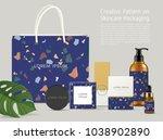 beautiful terrazzo pattern on... | Shutterstock .eps vector #1038902890