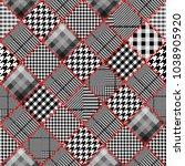 seamless vector pattern.... | Shutterstock .eps vector #1038905920
