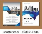 design cover poster a4 catalog... | Shutterstock .eps vector #1038919438