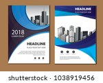 design cover poster a4 catalog... | Shutterstock .eps vector #1038919456