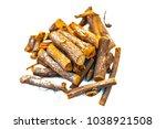 close up of ayurvedic herb... | Shutterstock . vector #1038921508