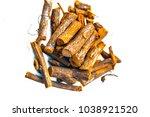 close up of ayurvedic herb... | Shutterstock . vector #1038921520