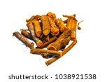 close up of ayurvedic herb... | Shutterstock . vector #1038921538
