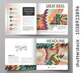 business templates for square... | Shutterstock .eps vector #1038923896