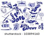 rat icons | Shutterstock .eps vector #103894160