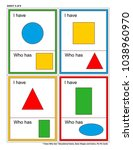 educational math game for kids  ... | Shutterstock .eps vector #1038960970