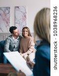 psychological consultation.... | Shutterstock . vector #1038968236