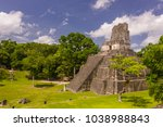 tikal  guatemala   august 11 ... | Shutterstock . vector #1038988843