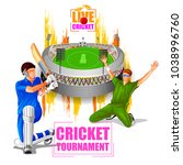 vector illustration of sports... | Shutterstock .eps vector #1038996760