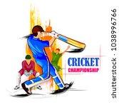 vector illustration of sports... | Shutterstock .eps vector #1038996766