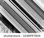 grunge white and black stripes. ... | Shutterstock .eps vector #1038997834
