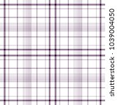 tartan traditional checkered... | Shutterstock .eps vector #1039004050
