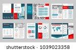 brochure creative design.... | Shutterstock .eps vector #1039023358