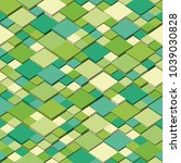 isometric graphic pattern.... | Shutterstock .eps vector #1039030828