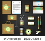 corporate style set | Shutterstock .eps vector #1039043056
