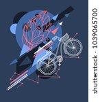 abstract vector illustration...   Shutterstock .eps vector #1039065700