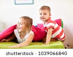 childhood  leisure and family... | Shutterstock . vector #1039066840