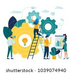 vector creative illustration of ... | Shutterstock .eps vector #1039074940