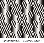 vector seamless pattern. modern ... | Shutterstock .eps vector #1039084234