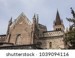 built in the romanesque and... | Shutterstock . vector #1039094116