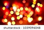 multicolored blurred lights... | Shutterstock . vector #1039096048