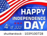 independence day.  usa   Shutterstock . vector #1039100728