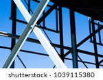 an image of construction frame | Shutterstock . vector #1039115380