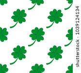 seamless background  irish... | Shutterstock . vector #1039124134