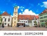 bratislava  slovakia  ... | Shutterstock . vector #1039124398