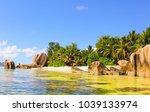 boulder composition anse source ... | Shutterstock . vector #1039133974