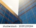 exterior of a modern building...   Shutterstock . vector #1039139284