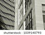 glass walls of a office... | Shutterstock . vector #1039140793
