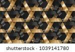 interlocking stripes wooden and ... | Shutterstock . vector #1039141780