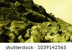 martian landscape of the lost... | Shutterstock . vector #1039142563