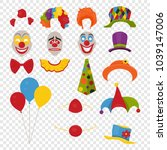 vector party birthday or 1th...   Shutterstock .eps vector #1039147006