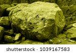 martian landscape of the lost... | Shutterstock . vector #1039167583