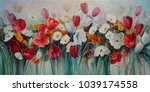 painting painted with oil... | Shutterstock . vector #1039174558