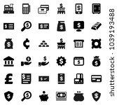 flat vector icon set   bank...   Shutterstock .eps vector #1039193488